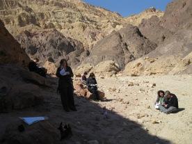 A little study in the desert
