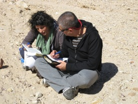 Studying God's Word in His beautiful Land