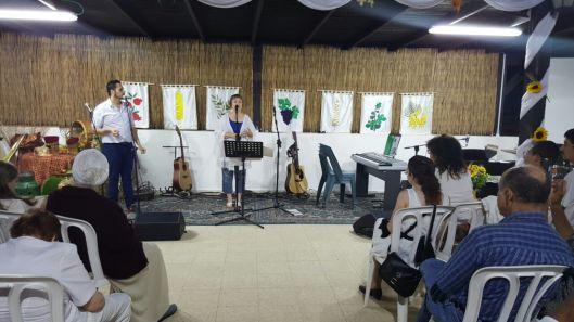 לימוד בקהילה על שבועות